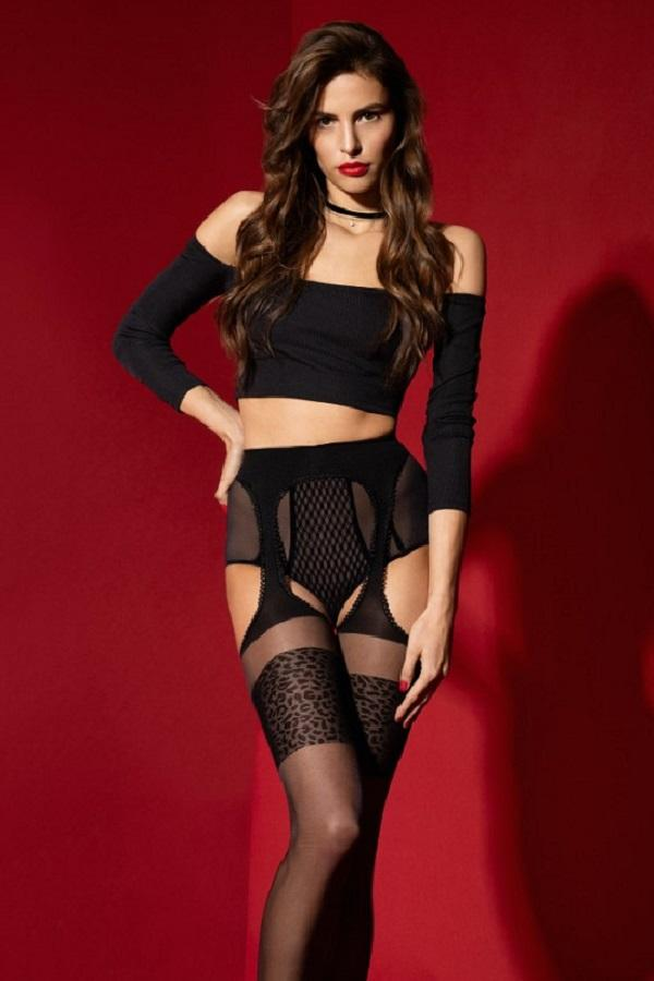 Garter-Belt Stockings Amour sauvage