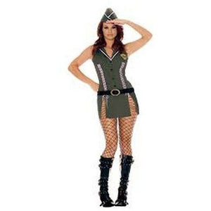 Army fancy dress costume set - Flirtywomen