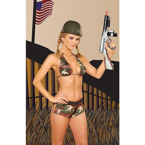 Army lingerie fancy dress costume for <span class=money>€19.95 EUR</span> at Flirtywomen