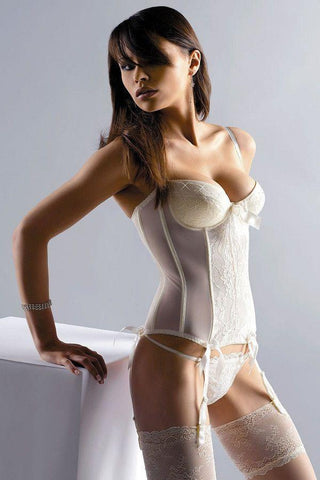 Bridal Ivory corset for <span class=money>€49.95 EUR</span> at Flirtywomen