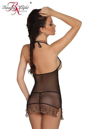 Sensual sheer nightdress