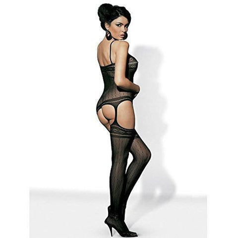 Black bodystocking - Flirtywomen