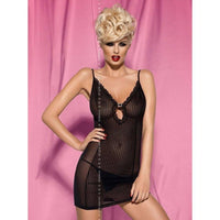 Black Nightdress - City Girl Chemise Nightdress