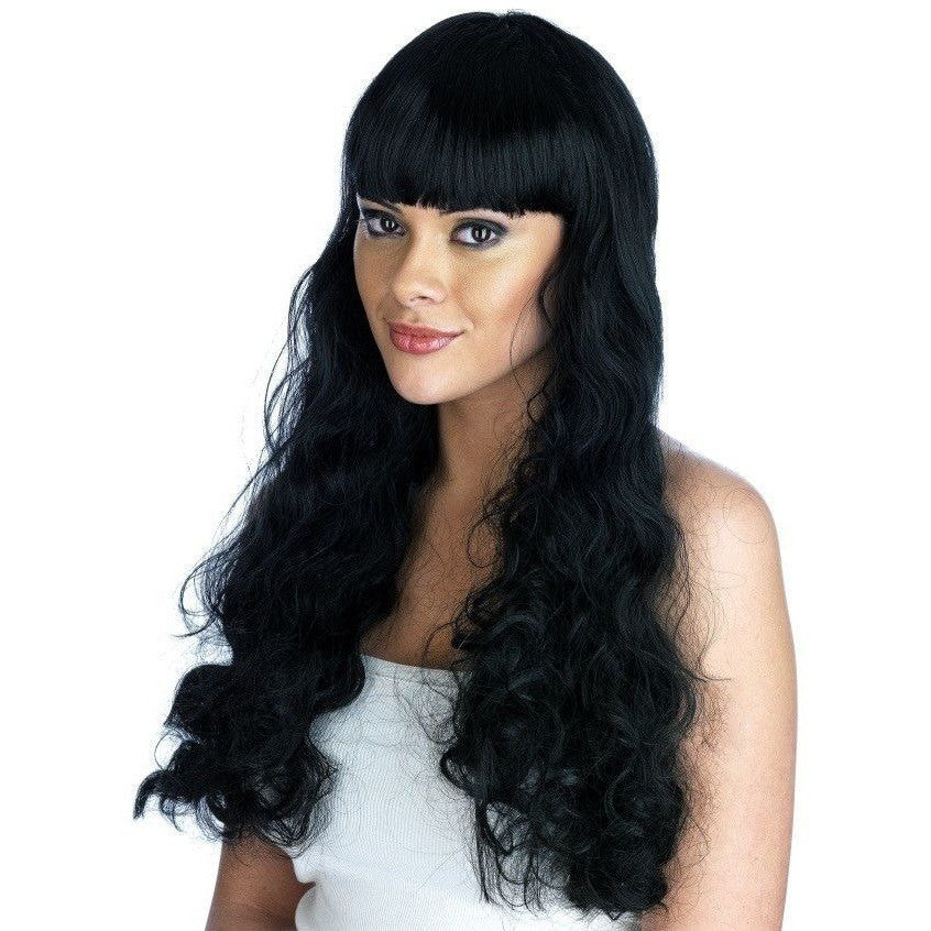 Black Pin Up Girl Wig - Flirtywomen