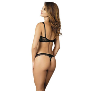 Black Thong Panties Scarlet-S - Black Thong Panties Scarlet-S