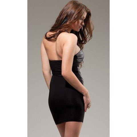 Black Tube Dress - Black Tube Dress