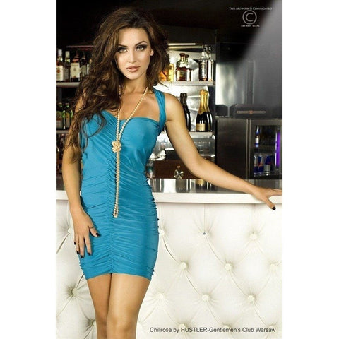 Blue Club Wear Dress - Blue Club Wear Dress