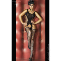 Bodystocking - Black Sensual Bodystocking