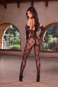 Bow Lace Body Stocking - Bow Lace Body Stocking