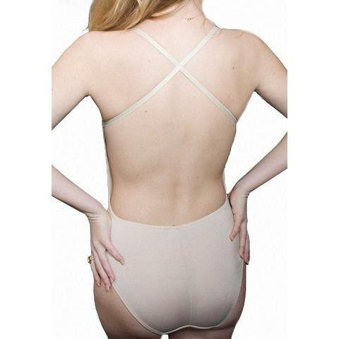 Brief beige body Shaper