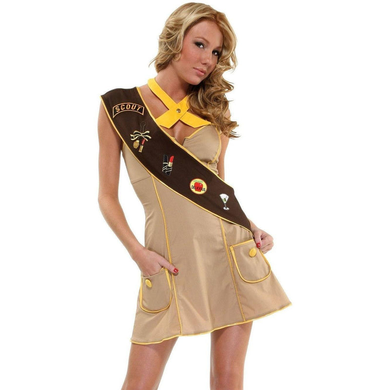 Scout themed fancy dress costume - Flirtywomen