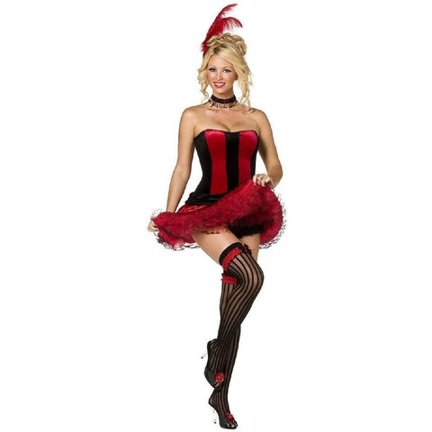Burlesque Can Can Corset and skirt for <span class=money>€34.95 EUR</span> at Flirtywomen