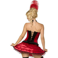 Burlesque Can Can Corset And Skirt - Burlesque Can Can Corset And Skirt