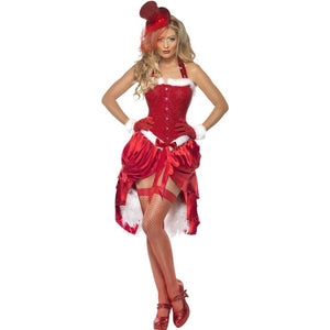 Burlesque Santa Dress - Santa Baby Burlesque Christmas Costume
