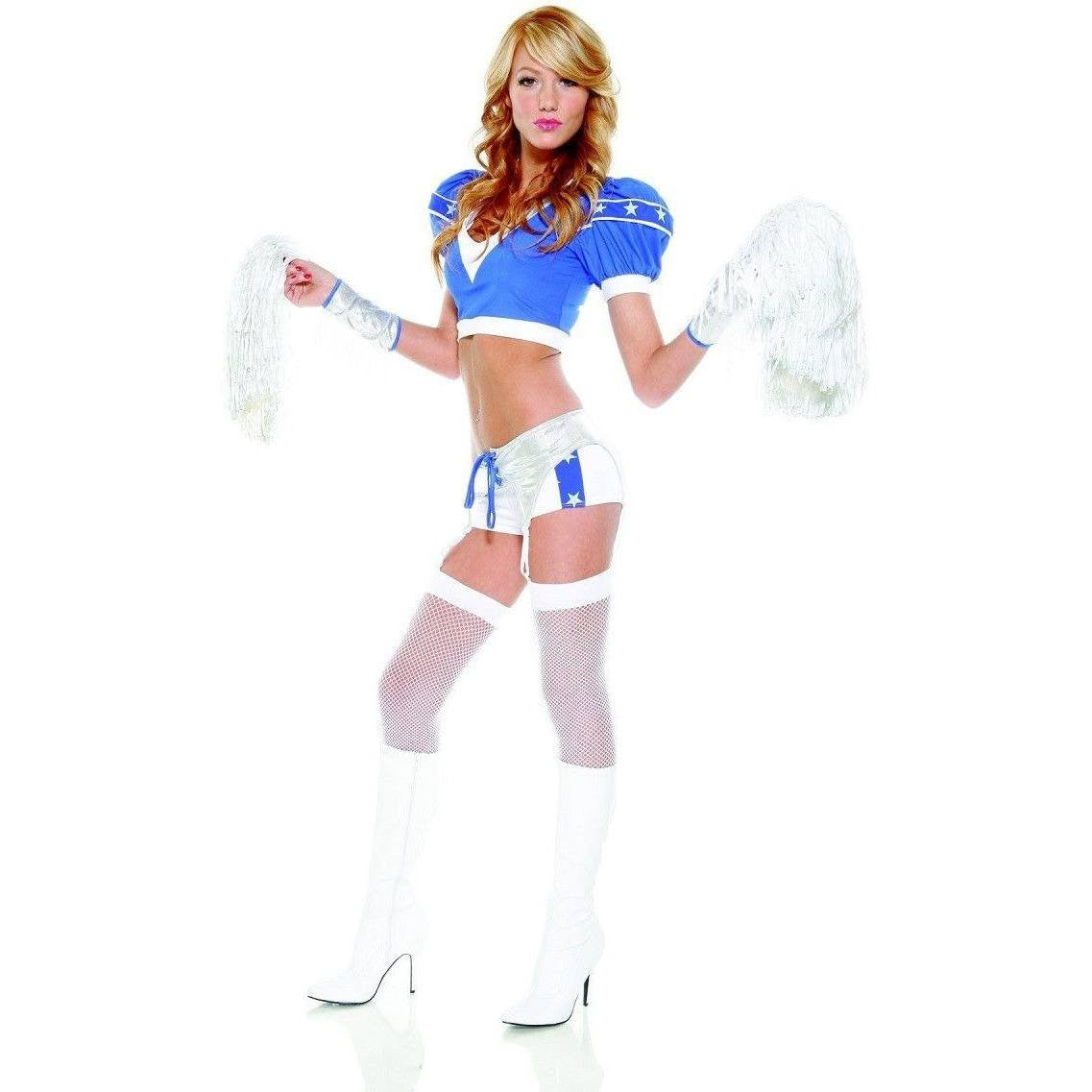 Cheerleader inspired costume for <span class=money>€29.95 EUR</span> at Flirtywomen