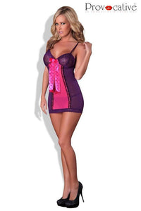 Nightdress purple and pink