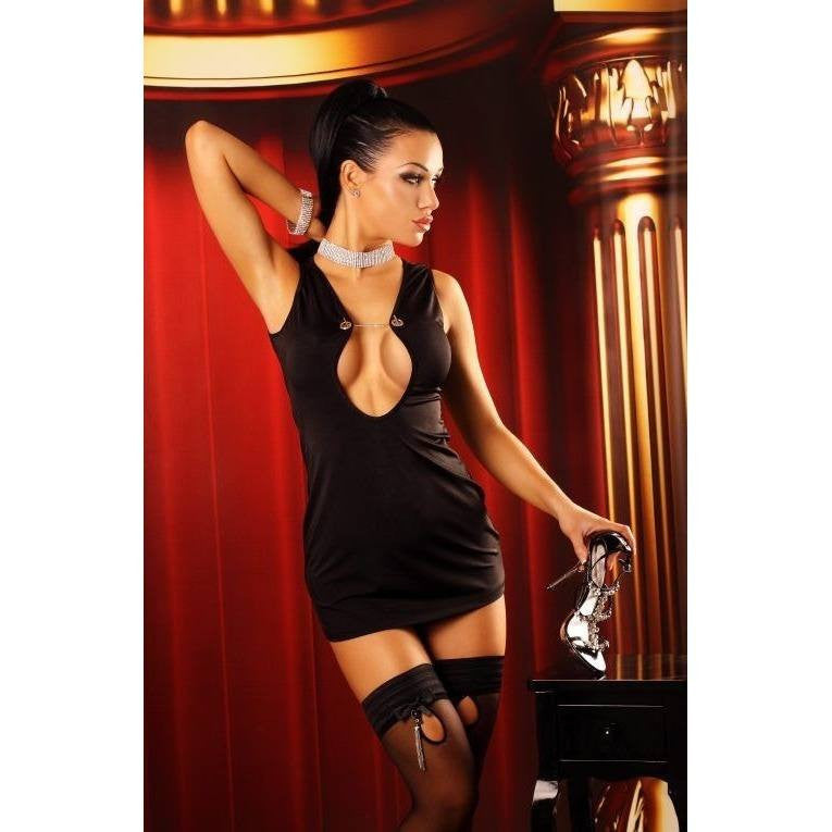 Classic Black Mini-dress - Classic Black Mini-dress