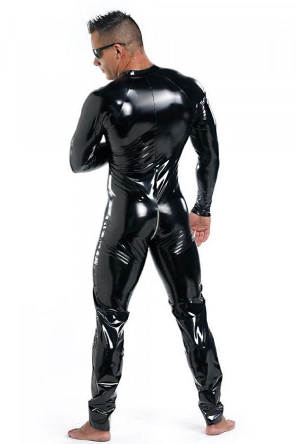 Men`s Vinyl Cat-suit