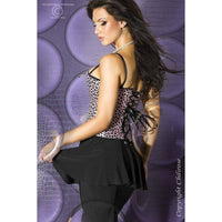 Lilac spotted corset X-Large - Flirtywomen