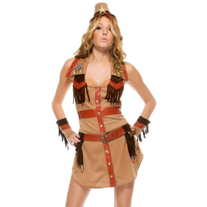 Cowgirl fancy dress - Flirtywomen
