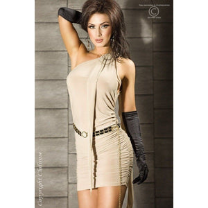 Cream Club Wear Dress - Cream Club Wear Dress