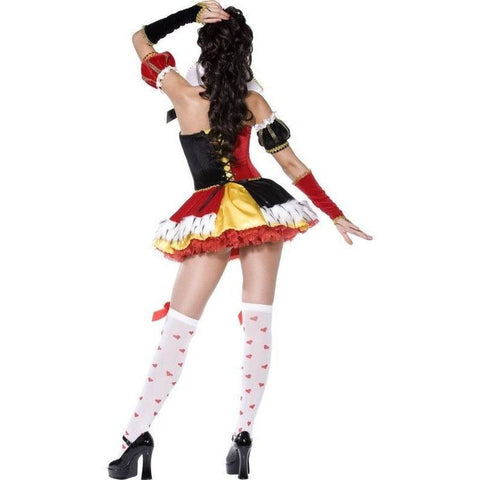 De Luxe Queen of Hearts costume for <span class=money>€49.95 EUR</span> at Flirtywomen