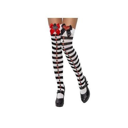 Deck of cards costume socks - Flirtywomen