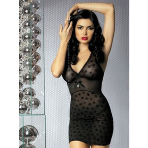Delicate Black Nightdress - Delicate Black Nightdress