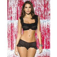 Diamond Two-piece Lingerie Set - Diamond Two-piece Lingerie Set