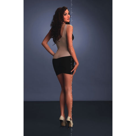 Elegant two tone dress for <span class=money>€29.95 EUR</span> at Flirtywomen