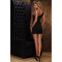 Dress - One Shoulder Mini Dress