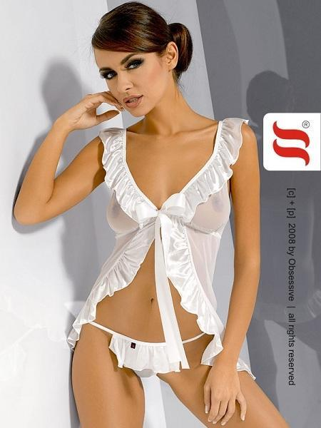 White baby doll nightdress