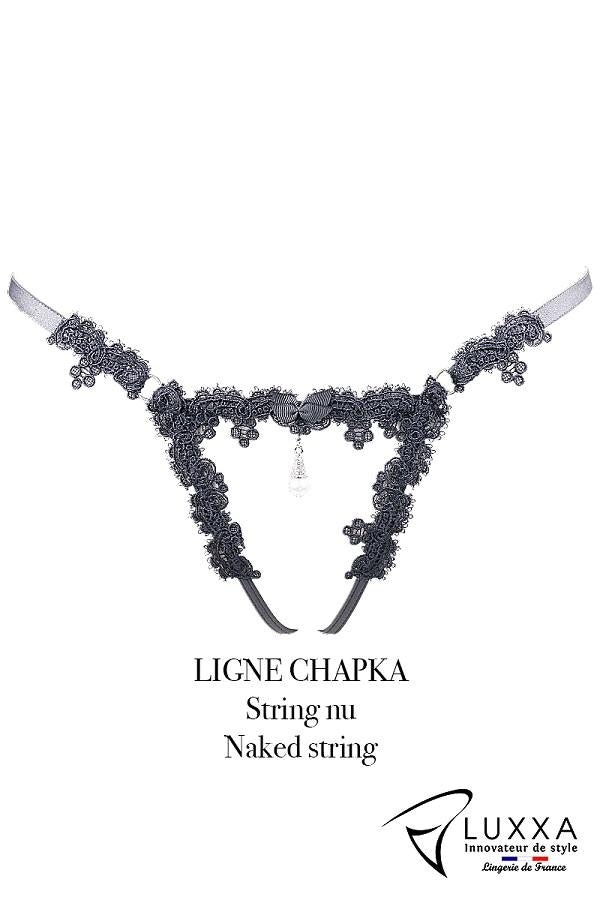 Harness Open G-String Chapka