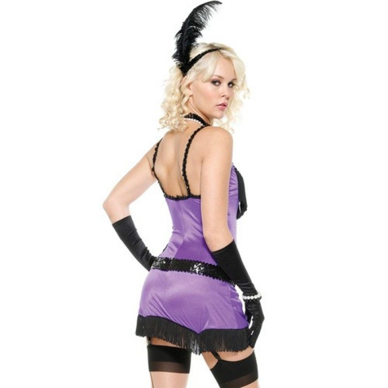 Fantasy Flapper Saloon girl costume - Flirtywomen