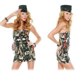 Flirty Soldier costume - Flirtywomen