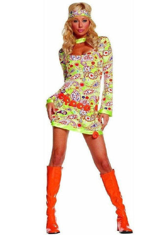 Retro three piece fancy dress costume for <span class=money>€19.95 EUR</span> at Flirtywomen