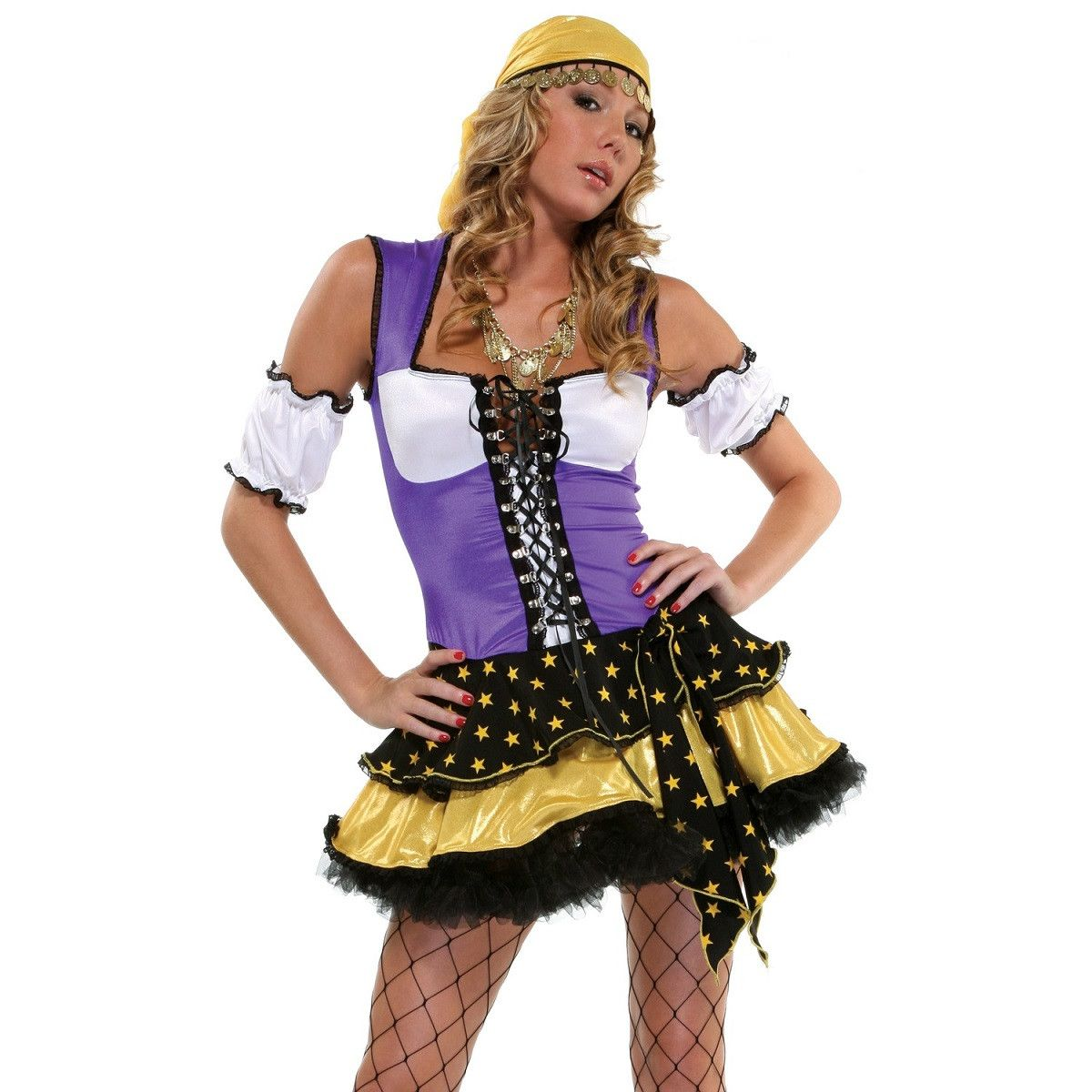 Fortune teller fancy dress for <span class=money>€49.95 EUR</span> at Flirtywomen