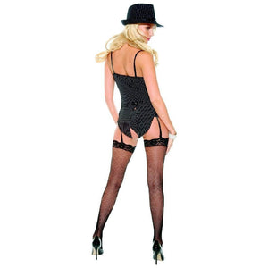 Mobster lingerie costume set with stockings - Flirtywomen
