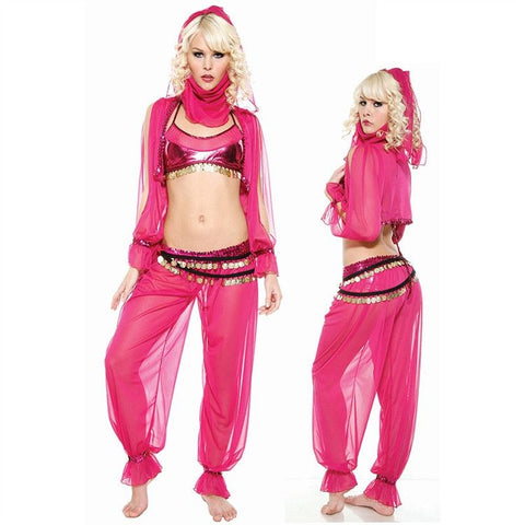 Genie fancy dress costume set for <span class=money>€34.95 EUR</span> at Flirtywomen