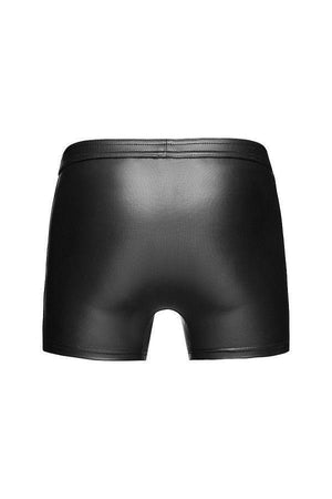 Sexy Men`s Eco-Leather shorts with hot details