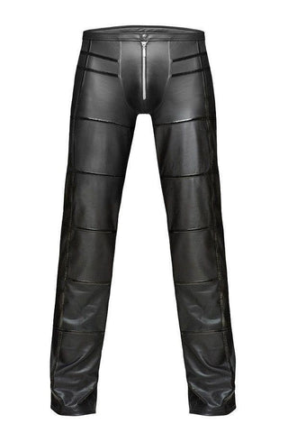 Mens Wet Look Trousers for <span class=money>€69.95 EUR</span> at Flirtywomen