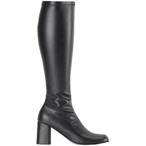 GoGo Black PU boots UK 2.5 for <span class=money>€39.95 EUR</span> at Flirtywomen