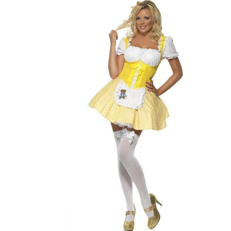Goldilocks fancy dress Costume - Flirtywomen