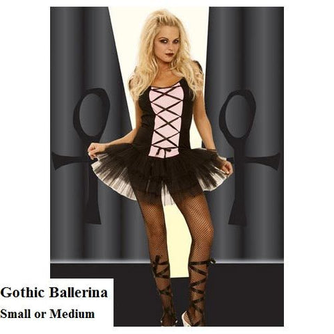 Gothic Ballerina Costume for <span class=money>€24.95 EUR</span> at Flirtywomen