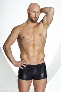 Men`s Wet-look shorts