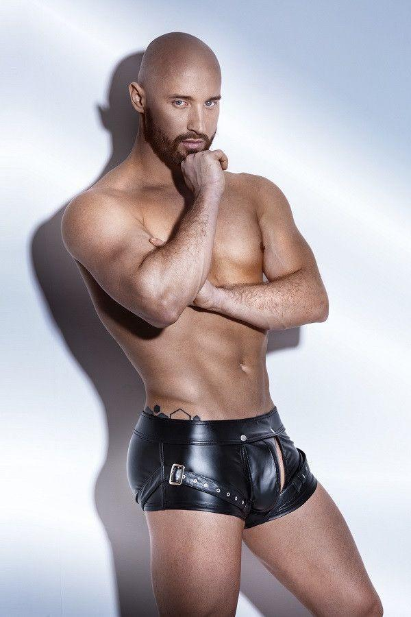 Men`s shorts with Harness - Flirtywomen