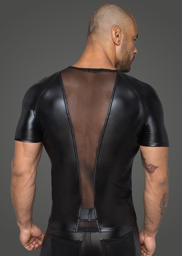 Men`s Wet-Look Top H056
