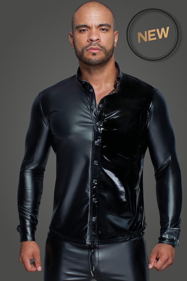 Long-sleeved Men`s Shirt H064
