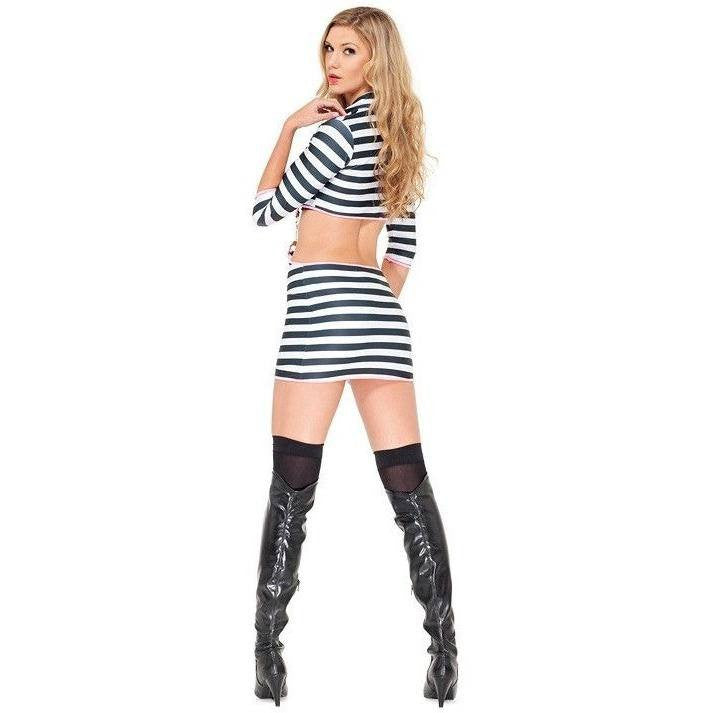 Jail bird fancy dress costume for <span class=money>€29.95 EUR</span> at Flirtywomen
