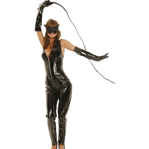 Jumpsuit - PVC Cat Jumpsuit
